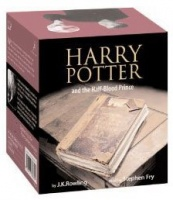 Harry Potter and the Half-Blood Prince written by J.K. Rowling performed by Stephen Fry on Cassette (Unabridged)