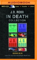 In Death Collection Books 26-29 written by J.D. Robb performed by Susan Ericksen on MP3 CD (Unabridged)