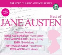 The Best of Jane Austen written by Jane Austen performed by Various Famous Actors on CD (Abridged)
