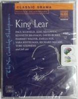 King Lear written by William Shakespeare performed by Paul Scofield, Kenneth Branagh, Harriet Walter and Emilia Fox on Cassette (Unabridged)