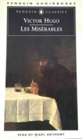 Les Miserables written by Victor Hugo performed by Nigel Anthony on Cassette (Abridged)