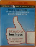 Likeable Business written by Dave Kerpen performed by Christopher Prince on MP3 CD (Unabridged)