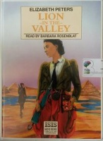Lion in the Valley written by Elizabeth Peters performed by Barbara Rosenblat on Cassette (Unabridged)