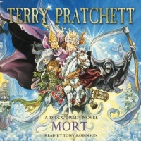 Mort written by Terry Pratchett performed by Tony Robinson on CD (Abridged)