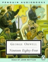 1984 written by George Orwell performed by John Nettles on Cassette (Abridged)