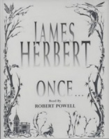Once..... written by James Herbert performed by Robert Powell  on Cassette (Abridged)