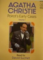 Poirot's Early Cases Volume 1 written by Agatha Christie performed by David Suchet on Cassette (Unabridged)