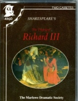 Richard III written by William Shakespeare performed by Marlowe Dramatic Society and Patrick Wymark on Cassette (Abridged)