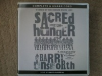 Sacred Hunger written by Barry Unsworth performed by David Rintoul on CD (Unabridged)
