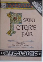 Saint Peter's Fair written by Ellis Peters performed by Stephen Thorne on Cassette (Unabridged)
