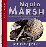 Scales of Justice written by Ngaio Marsh performed by Benedict Cumberbatch on CD (Abridged)