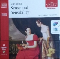 Sense and Sensibility written by Jane Austen performed by Juliet Stephenson on CD (Unabridged)