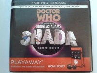 Shada written by Douglas Adams performed by Lalla Ward and John Leeson on MP3 Player (Unabridged)