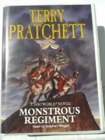 Monstrous Regiment written by Terry Pratchett performed by Stephen Briggs on Cassette (Unabridged)