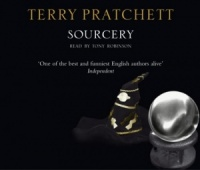Sourcery written by Terry Pratchett performed by Tony Robinson on CD (Abridged)