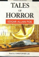 Tales of Horror written by Edgar Allan Poe performed by Christopher Lee on Cassette (Unabridged)