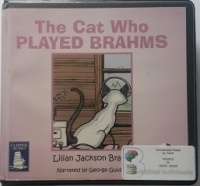 The Cat Who Played Brahms written by Lilian Jackson Braun performed by George Guidall on CD (Unabridged)