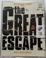 The Great Escape written by Paul Brickhill performed by Richard Todd on Cassette (Abridged)