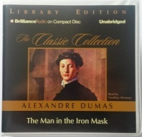The Man in the Iron Mask written by Alexandre Dumas performed by Geoffrey Sherman on CD (Unabridged)