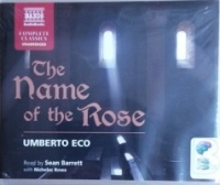 The Name of the Rose written by Umberto Eco performed by Sean Barrett and  on CD (Unabridged)