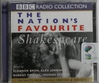 The Nations Favourite Shakespeare written by William Shakespeare performed by Eleanor Bron, Alex Jennings, Robert Powell and Imogen Stubbs on CD (Abridged)