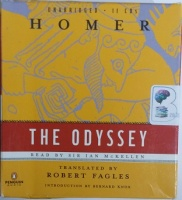 The Odyssey written by Homer performed by Ian McKellen on CD (Unabridged)