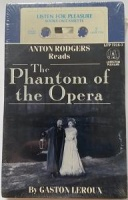 The Phantom of the Opera written by Gaston Leroux performed by Anton Rogers on Cassette (Abridged)