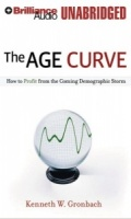 The Age Curve - How to Profit from the Coming Demographic Storm written by Kenneth W. Gronbach performed by Max Bloomquist on MP3 CD (Unabridged)