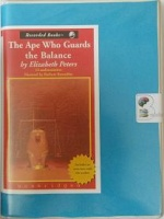 The Ape Who Guards the Balance written by Elizabeth Peters performed by Barbara Rosenblat on Cassette (Unabridged)