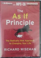 The As If Principle written by Richard Wiseman performed by Ralph Lister on MP3 CD (Unabridged)
