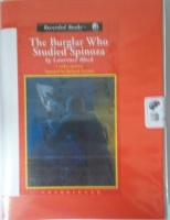 The Burglar Who Studied Spinoza written by Lawrence Block performed by Richard Ferrone on Cassette (Unabridged)