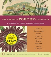 The Caedmon Poetry Collection written by Various Poets performed by T.S. Eliot, W.H.Auden, Dylan Thomas and Derek Walcott on CD (Abridged)