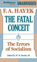 The Fatal Conceit - The Errors of Socialism written by F.A. Hayek performed by Everett Sherman on MP3 CD (Unabridged)