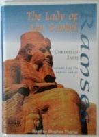 Ramses Part 4 - The Lady of Abu Simbel written by Christian Jacq performed by Stephen Thorne on Cassette (Unabridged)