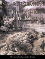 The Lord of the Rings - Part 2 The Two Towers written by J.R.R. Tolkien performed by Rob Inglis on Cassette (Unabridged)