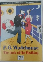 The Luck of the Bodkins written by P.G. Wodehouse performed by Jonathan Cecil on Cassette (Unabridged)