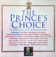 The Prince's Choice written by William Shakespeare performed by Various Famous Actors on CD (Abridged)