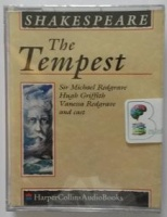 The Tempest written by William Shakespeare performed by Michael Redgrave, Hugh Griffith, Vanessa Redgrave and Anna Massey on Cassette (Unabridged)