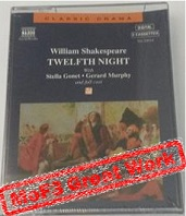 Twelfth Night written by William Shakespeare performed by Stella Gonet, Gerard Murphy and Jonathan Keeble on Cassette (Unabridged)