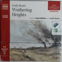 Wuthering Heights written by Emily Bronte performed by Janet McTeer and David Timson on CD (Unabridged)